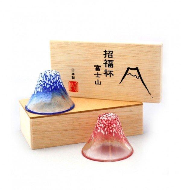 Mt. Fuji Sake Cups - World Heritage Site Celebration