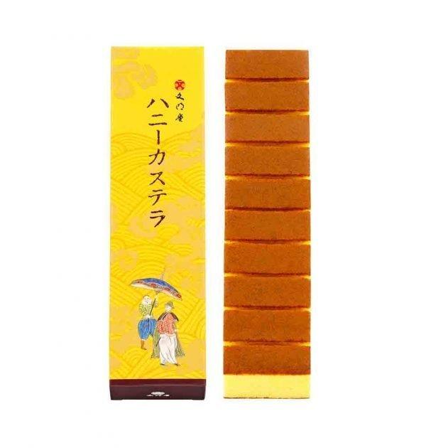 BUNMEIDO Honey Castella 10 Slices Made in Japan