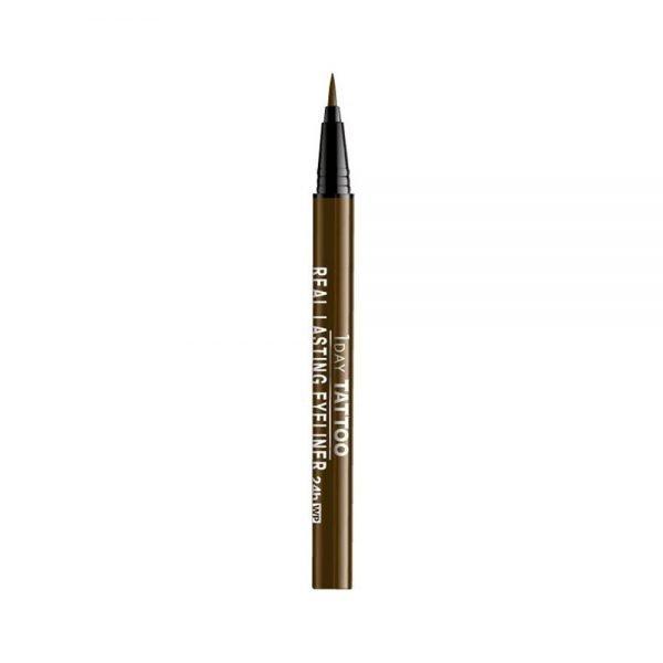 CUORE K-Palette 24H Real Lasting Eyeliner Waterproof Brown Made in Japan