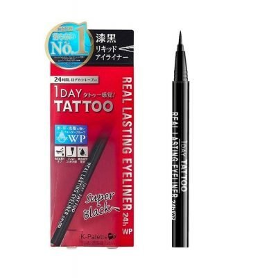 CUORE K-Palette 24H Real Lasting Eyeliner Waterproof Black Made in Japan