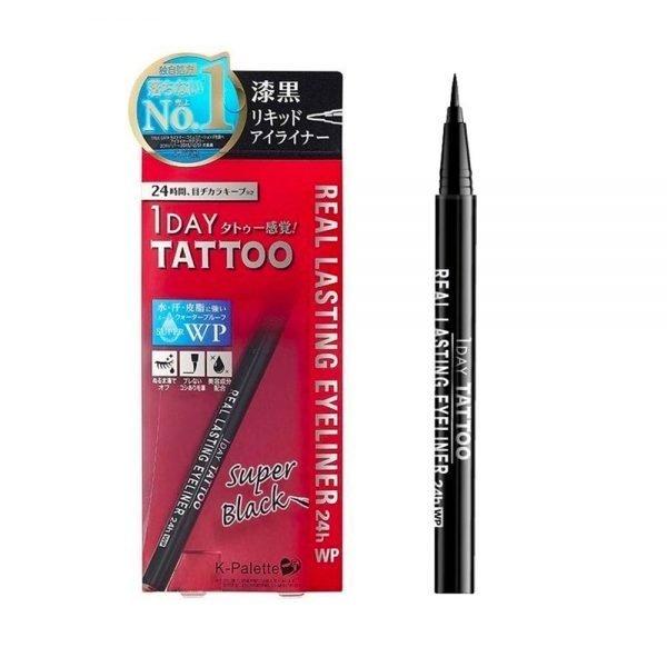 CUORE K-Palette 24H Real Lasting Eyeliner Waterproof Black Made in Japan
