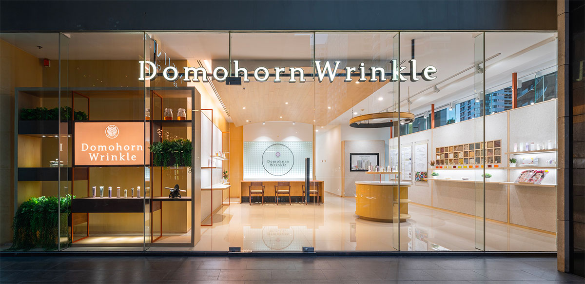 DOMOHORN WRINKLE Made in Japan
