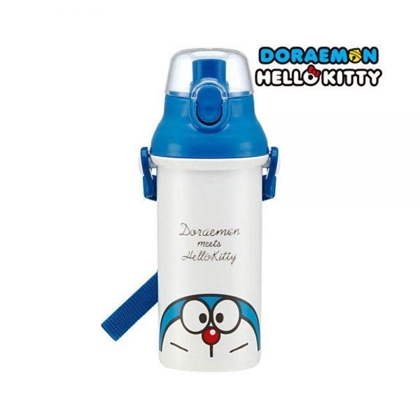 DORAEMON & HELLO KITTY Water Bottle - Made in Japan