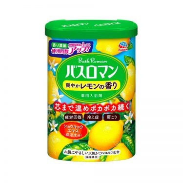 EARTH Bath Roman Bath Salts Powder Lemon Made in Japan