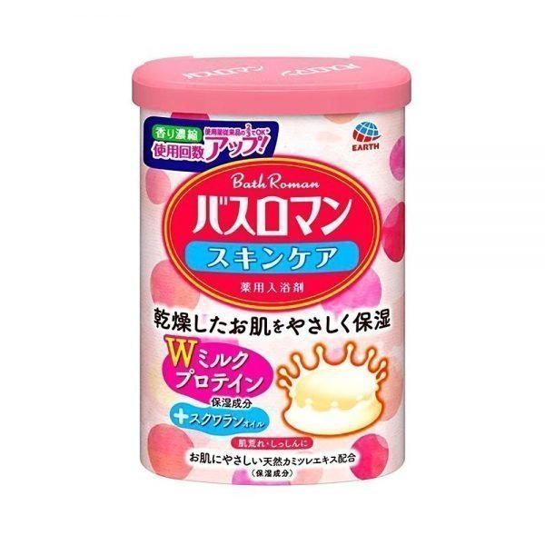 EARTH Bath Roman Bath Salts Powder SkinCare Milk Protein Made in Japan
