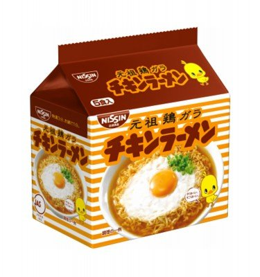 NISSHIN Chicken Ramen - 5 Servings
