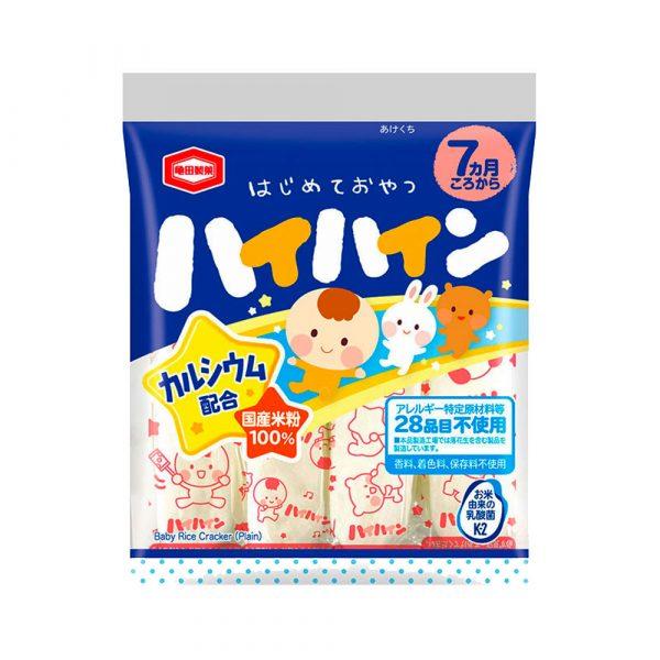 KAMEDA Hai Hain Rice Crackers for Babies Made in Japan