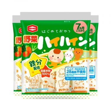 KAMEDA Hai Hian Rice Crackers for Babies