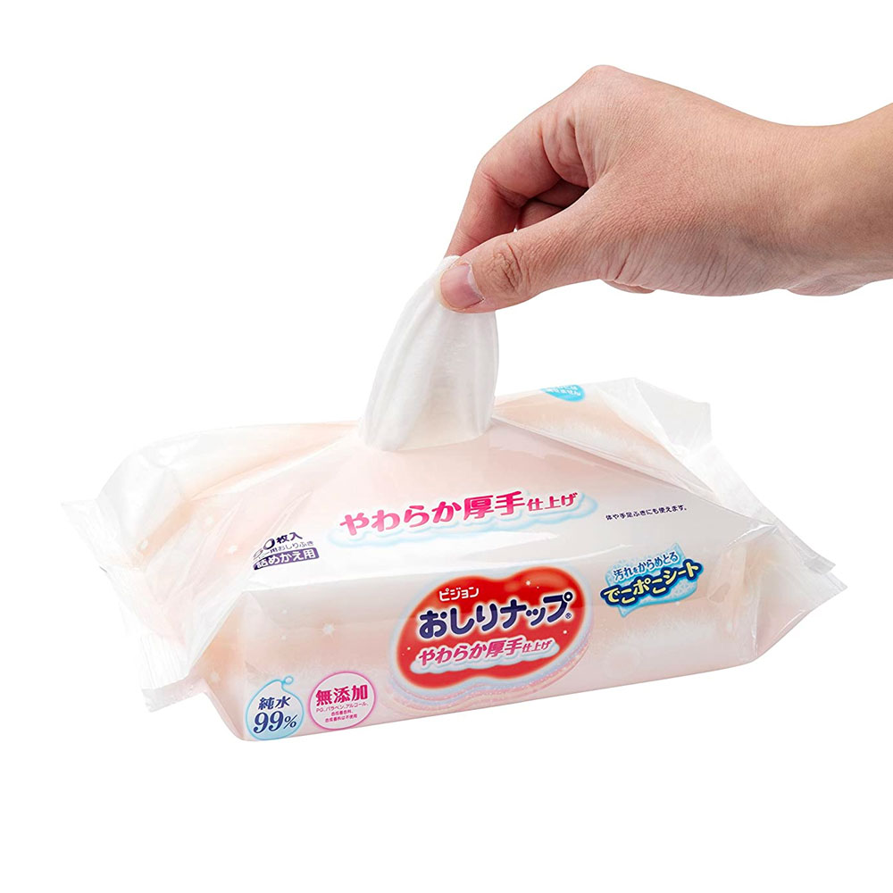 KAO Merries Wipes Refill 54 Sheets Made in Japan