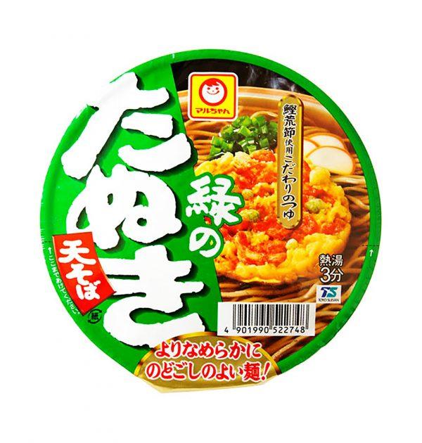 MARUCHAN Midori no Tanuki Udon - Green Racoon Cup Noodle