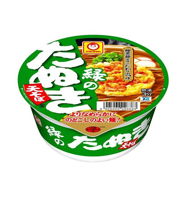 MARUCHAN Midori no Tanuki Udon - Cup Noodle 1 Serving