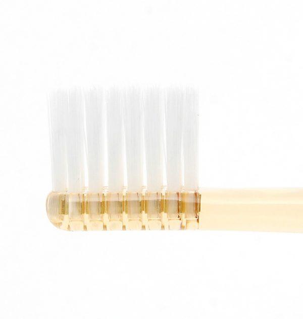 MUJI Flat Type Toothbrush 4 Colour Set