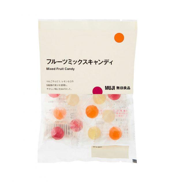 MUJI Mixed Fruit Candy 50g Made in Japan