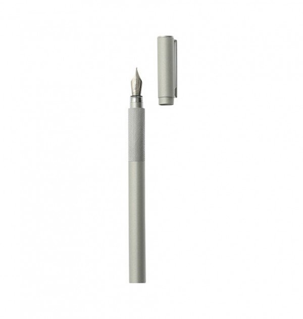 MUJI Aluminum Body Fountain Pen
