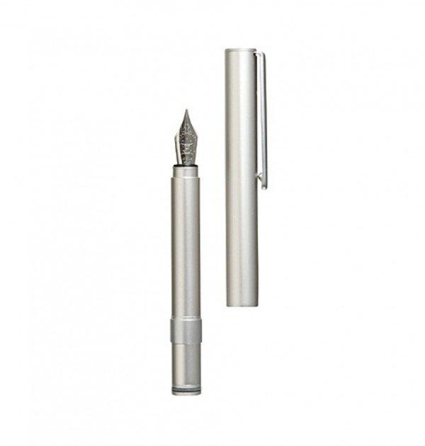 MUJI Aluminum Pocket Fountain Pen