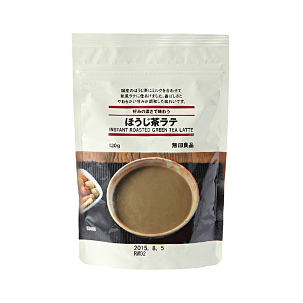 MUJI Instant Hojicha Roasted Green Tea Latte Powder