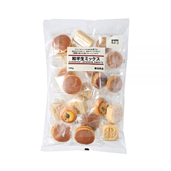MUJI Assorted Japanese Traditional Sweets – Large Bag
