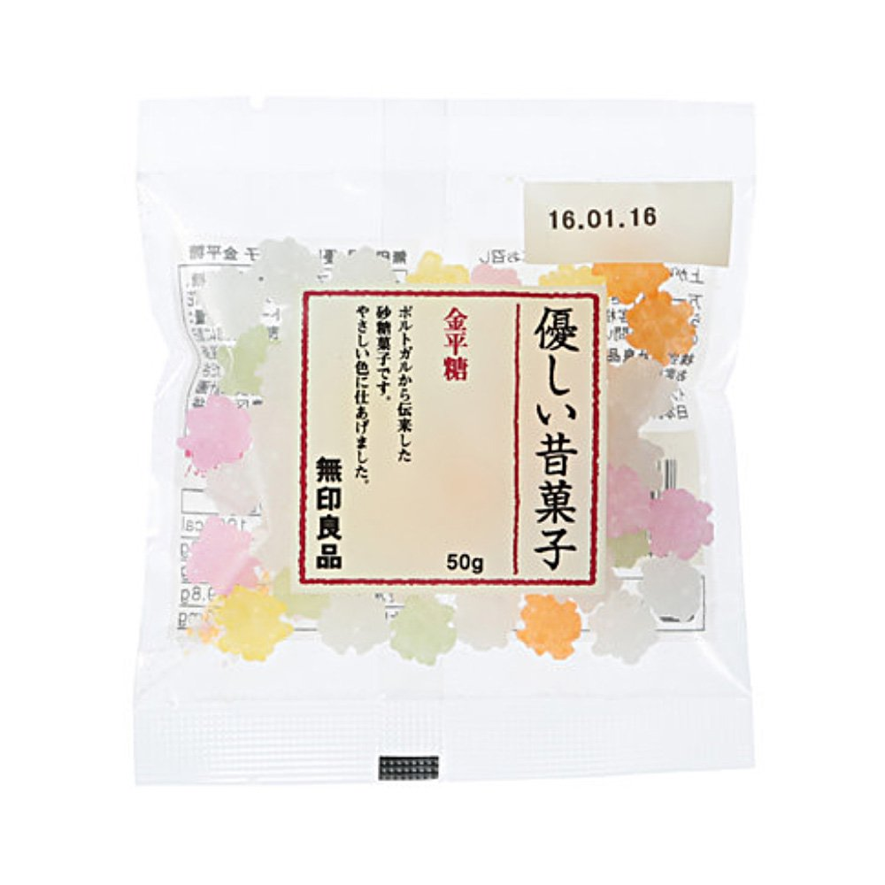 MUJI Kompeito Japanese Sugar Rock Candy 50g