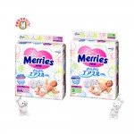 KAO Merries Tape Nappies - Sarasara Air Through S-size 4-8kg