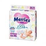 KAO Merries Nappies - Sarasara Air Through Newborn - 5kg Babies