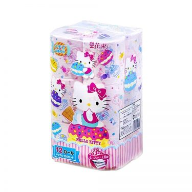 SANRIO Hello Kitty Toilet Paper - Triple Ply with Strawberry Fragrance
