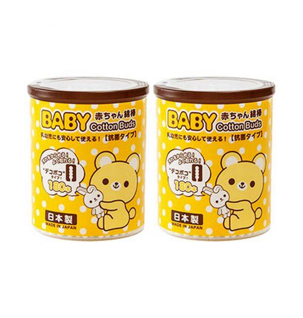 SANYO Baby Cotton Buds - Antibacterial Bumpy Type