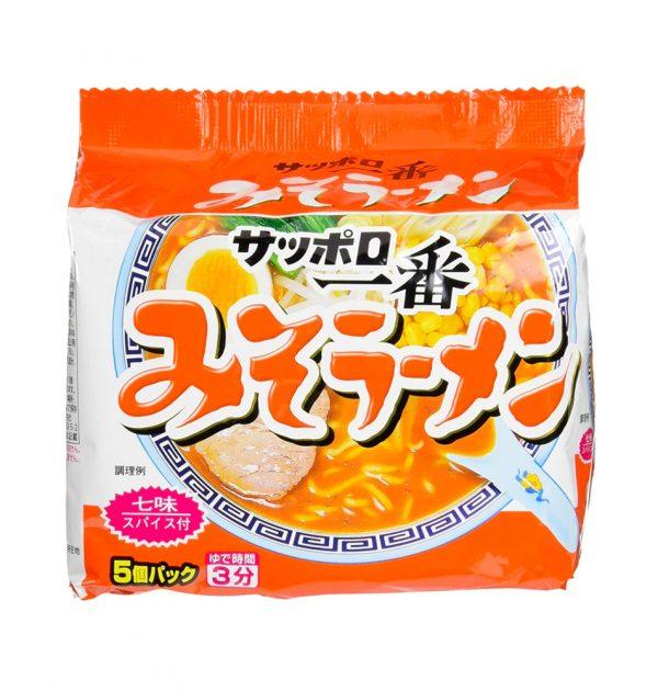SANYO Sapporo Ichiban Miso Flavour - 5 Servings