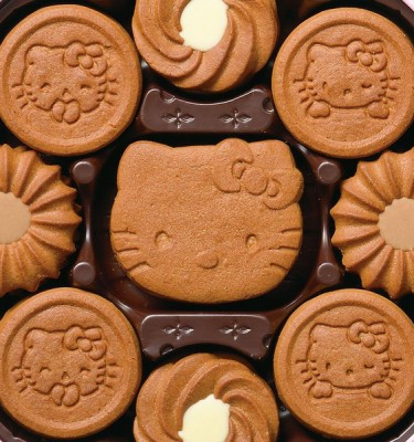BOURBON Hello Kitty Coco Cookies - Baked in Japan