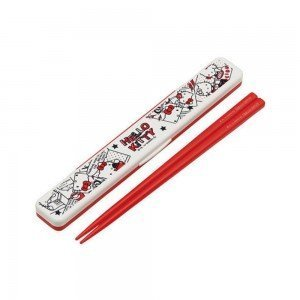 HELLO KITTY Portable Chopsticks - Comic Series Made in Japan
