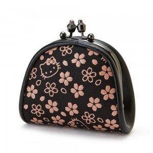 HELLO KITTY Gamaguchi Purse - Sakura Series Made in Japan