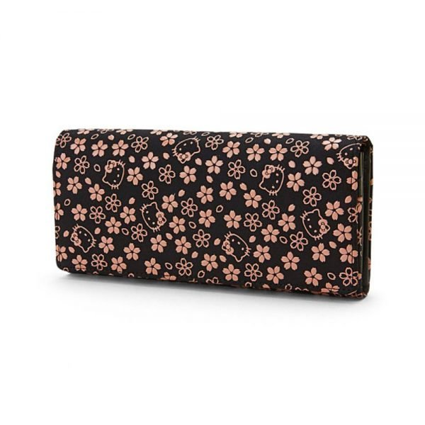 HELLO KITTY Sakura Series – Inden Long Wallet Made in Japan