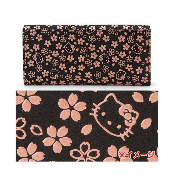 HELLO KITTY Sakura Series – Inden Long Wallet Made in Japan