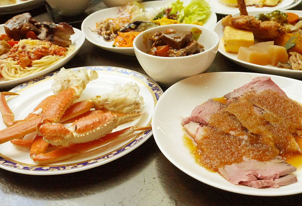 Best Buffet Restaurants in Japan
