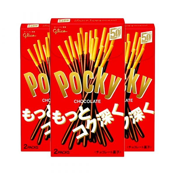 GLICO Pocky Chocolate Original Made in Japan