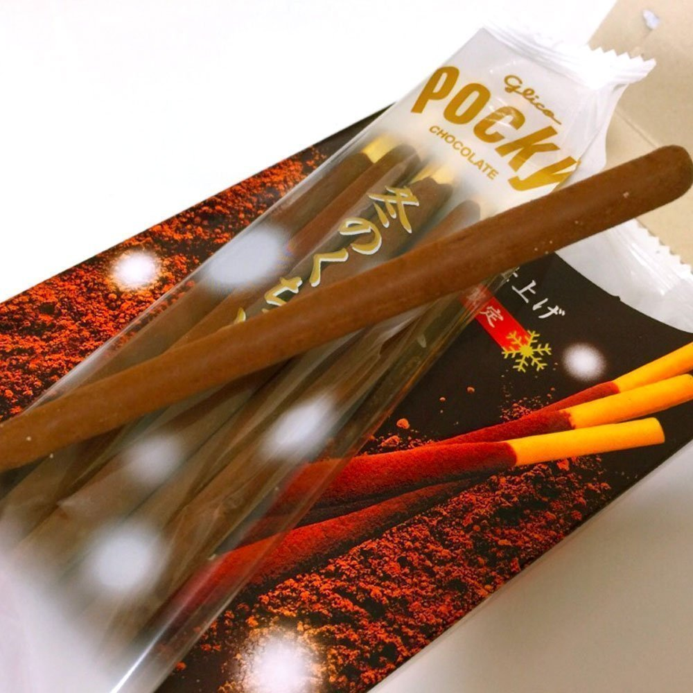 GLICO Pocky Winter Melt Cocoa Edition Fuyu no Kuchidoke Made in Japan