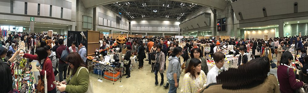 The 42 Design Festa at Big Sight in Tokyo