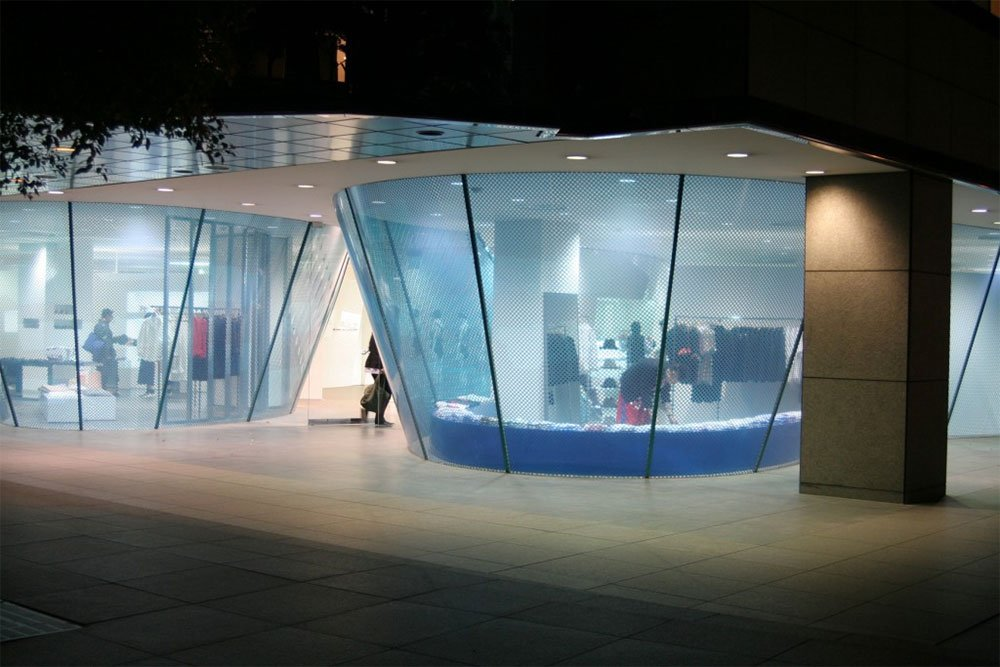 Comme des Garcons flagship shop in Aoyama