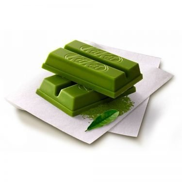 KIT KAT Mini Matcha Green Tea with Uji Gyokuro Available Only in Japan