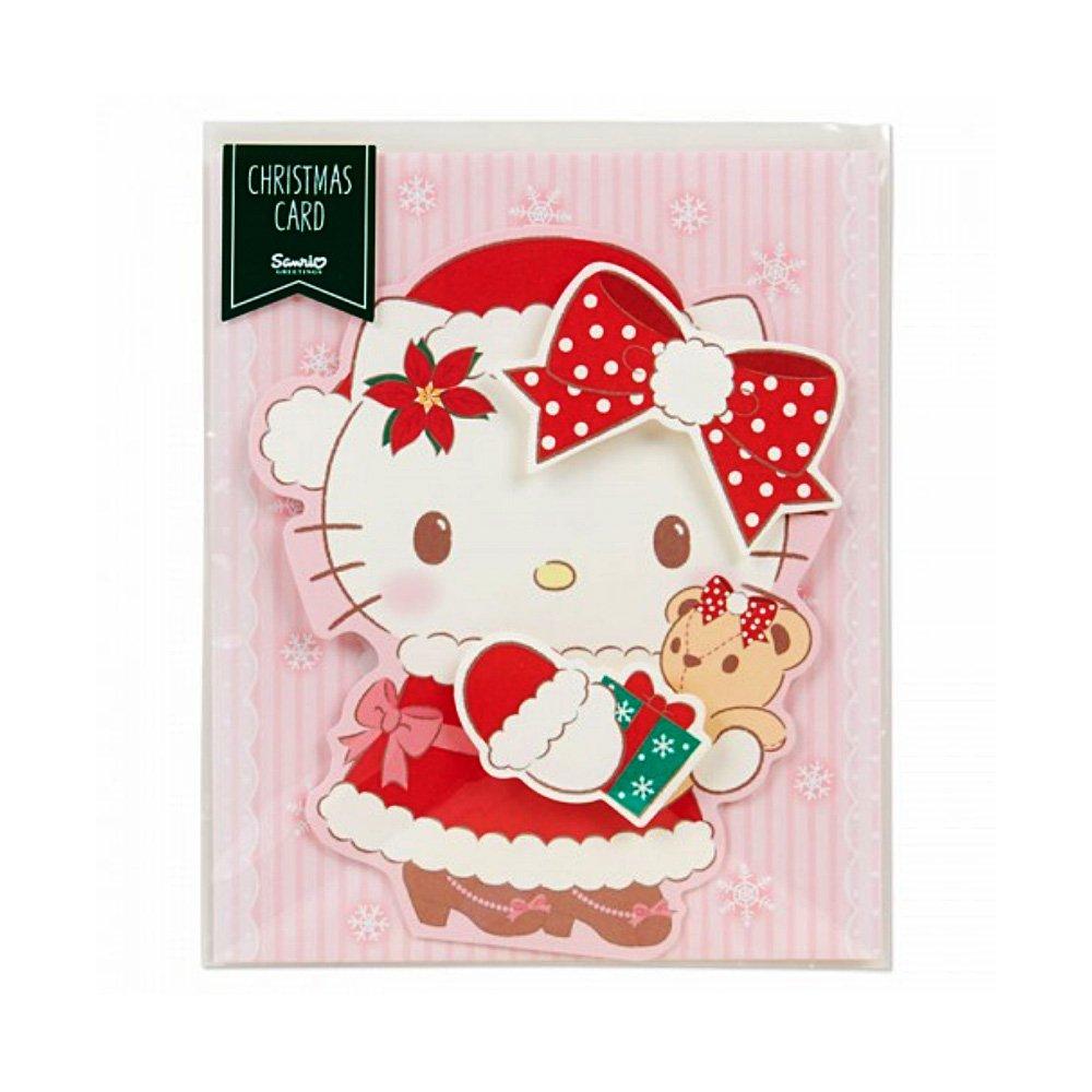Hello kitty christmas card kitty shape takaski hello kitty christmas card m4hsunfo
