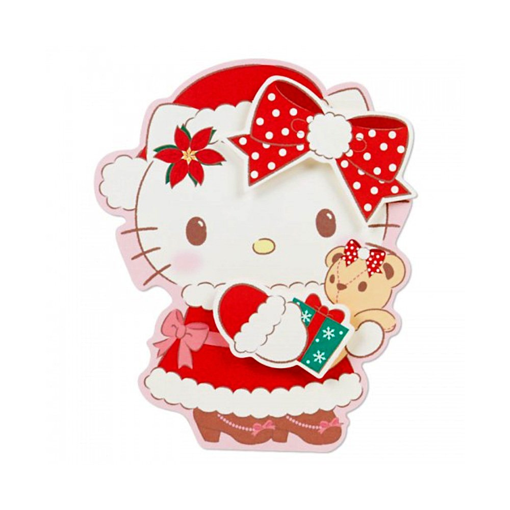 HELLO KITTY Christmas Card