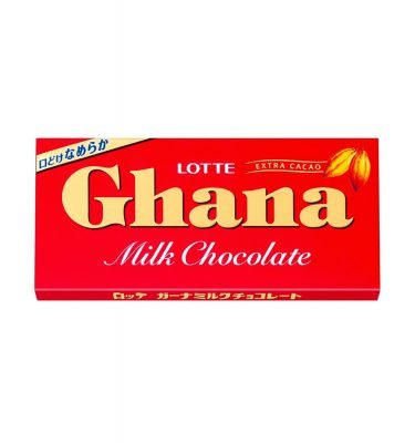 LOTTE Ghana Milk Chocolate
