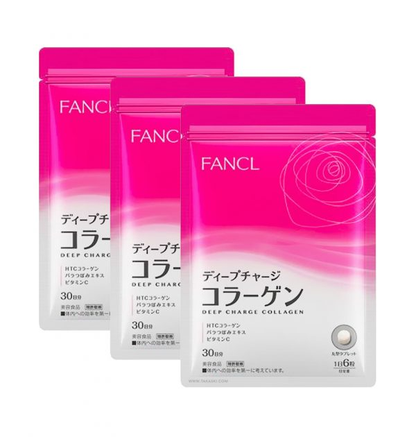 FANCL Deep Charge Collagen 30 Days Made in Japan