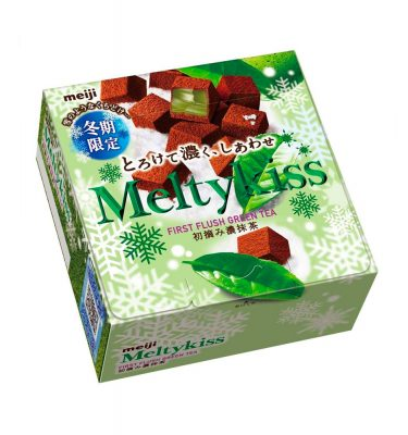 MEIJI Meltykiss Matcha Green Tea Chocolate 2017 Limited Edition