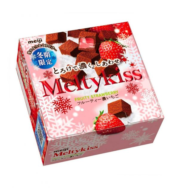 MEIJI Meltykiss Strawberry Chocolate 2018 Limited Edition