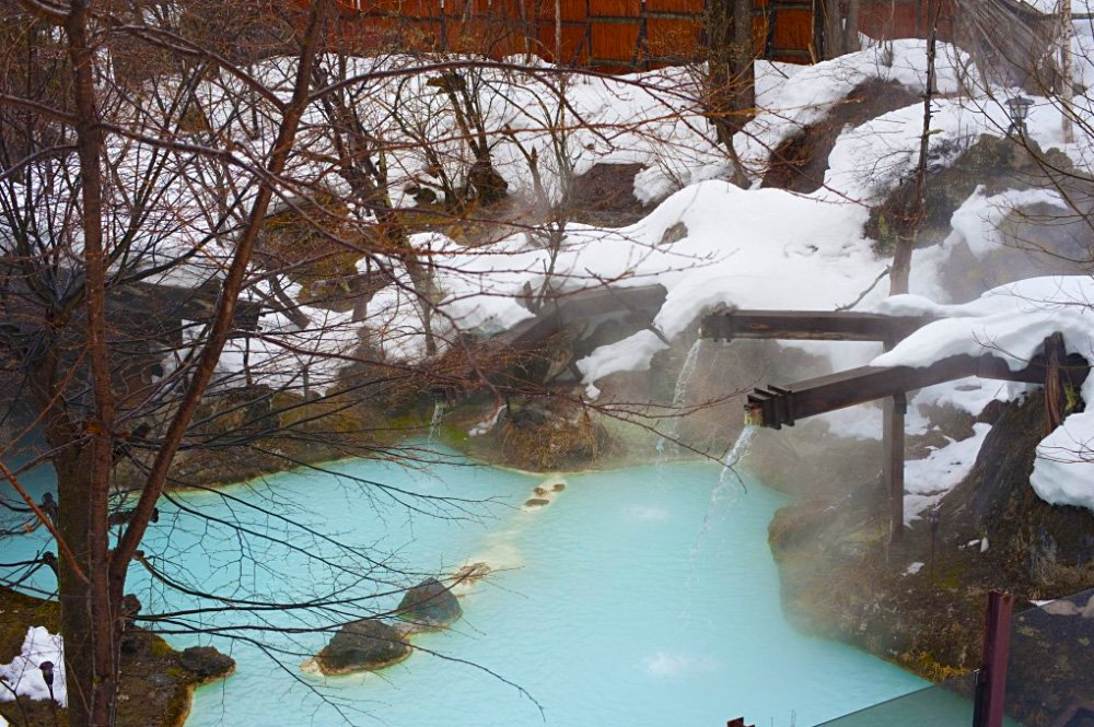 Shirahone Onsen Source: www.freeimageslive.co.uk)