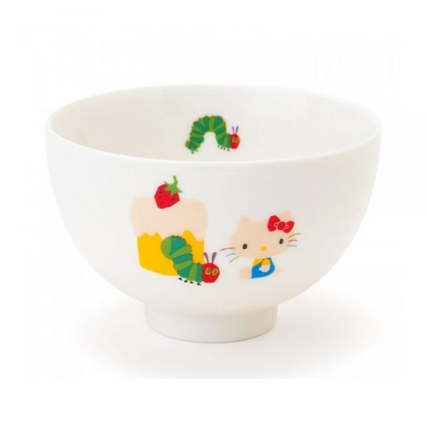 SANRIO Hello Kitty and Very Hungry Caterpillar Rice Bowl for Adults