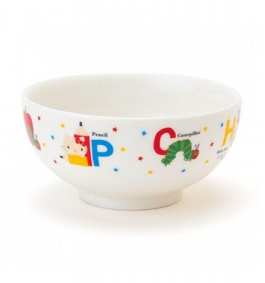 SANRIO Hello Kitty and The Very Hungry Caterpillar Rice Bowl for Kids