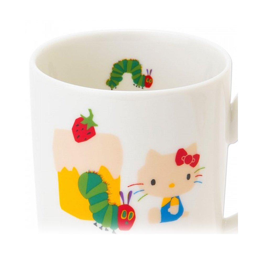 SANRIO Hello Kitty and Very Hungry Caterpillar Mug Cup