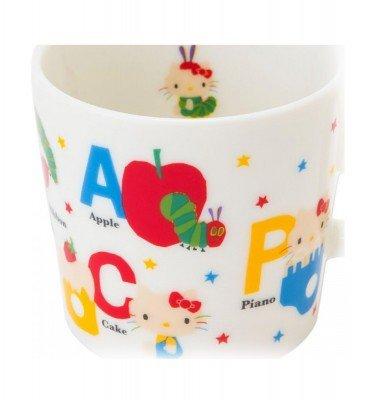 SANRIO Hello Kitty and Very Hungry Caterpillar Mug Cup for Kids