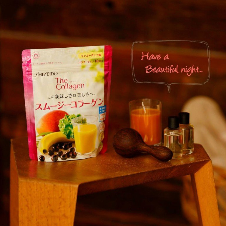 SHISEIDO The Collagen Smoothie Mango and Banana Flavour